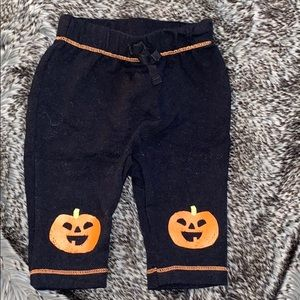Halloween / pumpkins baby bottoms